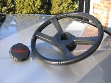 CHEVY TRUCK SUBURBAN BLACK RUBBER STEERING WHEEL 1500 2500 78-88  81-87 90 91