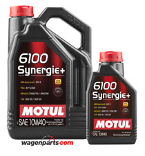 Aceite Motor Motul 6100 Synergie+ 10W40, Pack 5 litros A3/B4 MB229.3 RN0710 0700