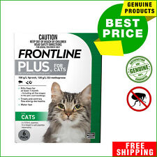 Frontline Plus For Cats and Kittens 6 Pipettes Flea Treatment by Merial AU Shop