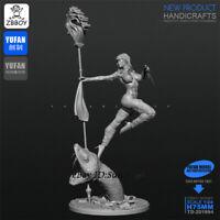 Kill the Snake Resin Kits Unpainted Figure Model Yufan 1/24