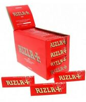 1//5/10/20/50/100 Rizla Red Regular Size Rolling Papers - Fast Free Delivery