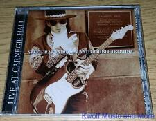 """STEVIE RAY VAUGHAN and Double Trouble """"Live At Carnegie Hall"""" NEW  (CD, 1997 )"""