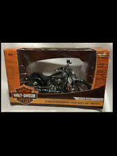 2004 Harley Softail Deuce  1:10 Ertl American Muscle 33154 Teal Blue