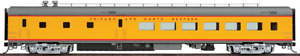 85' ACF 48-Seat Diner - UP City Streamliner Pool Chicago & North Western