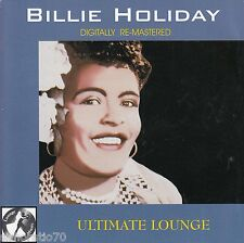 BILLIE HOLIDAY Ultimate Lounge CD - 25 tracks
