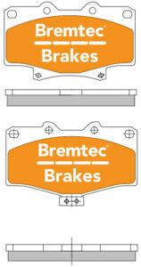 TRADELINE BRAKE PAD SET FOR FRONT TOYOTA 4 RUNNER VZN130 V6