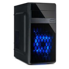 MA-01 Micro ATX PC Computer Tower Gehäuse ohne Netzteil Lüfter beleuchtet USB 3