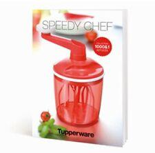 Tupperware neuf livret recettes speedy chef 1000&1 astuces