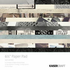 """KAISERCRAFT Scrapbooking Paper Pads 6.5 x 6.5"""" - Just Landed - Nini's Things"""