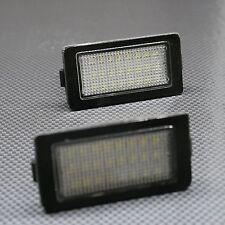 2x LED Kennzeichenbeleuchtung für BMW 7er E38 weiß