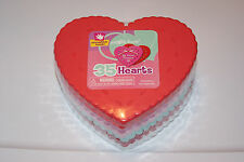 New 35 Heart Shape Valentine's Kids Craft Teacher Art Foam Free Shipping! Bcr