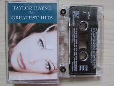 TAYLOR DAYNE GREATEST HITS CASSETTE, 1995 ARISTA, LYRICS, TESTED, ULTRA RARE.