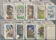 WILLS-FULL SET- AIR RAID PRECAUTIONS (50 CARDS) - EXC
