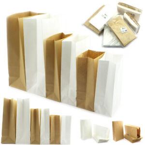 Geschenktüten Papiertüten Papierbeutel Beutel Tüten Papier Weiss Bodenbeutel