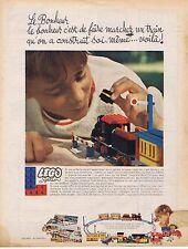 Publicité Advertising 016 1968 Lego System jeux pour enfants