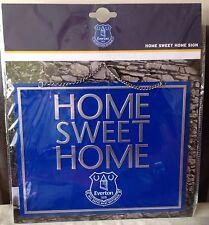 Oficial Everton Home sweet home Metal SIGN-gran idea del regalo