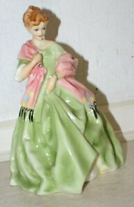 """Royal Worcester Figurine """"First Dance"""" 3629 by FG Doughty. Excellent Condition"""