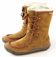 Cushe Womens Clare Lined Waterproof Winter Snow Boot Tan Brown Size 5