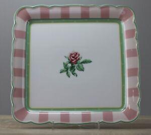 Hutschenreuther Medley Parklane Quadratische  Platte ca. 22,5 x 22,5 cm