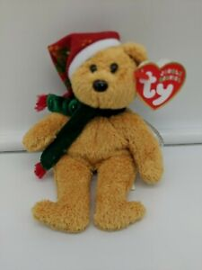TY Jingle Beanie Babies Vintage 2003 Christmas Ornament Free Shipping