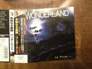 WONDERLAND - IS THIS... MELODIC/AOR JAP CD
