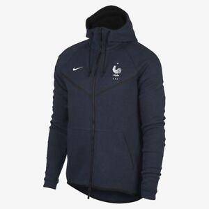 Nike FFF (Team France) Tech Fleece Windrunner Men's Jacket 927419 475 Size S L