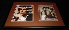 Keith Richards Framed 12x18 Rolling Stone Cover Display