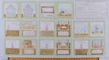 "23"" X 44"" Panel Who Says Peep Farm Animals Soft Book Cotton Fabric Panel D758.26"
