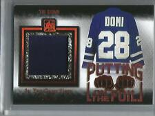 Tie Domi 16/17 In The Game Used Game Used Jersey #29/30