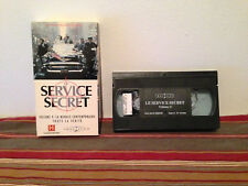 Les services secret volume 4 VHS tape & sleeve FRENCH documentary
