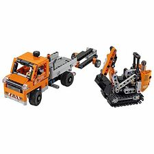 LEGO Technic Roadwork Construction Crew Truck & Vehicle Building Set | 42060