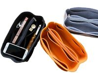 LUZEE Purse Organizer Bag with Middle Zipper Fit MM Speedy 30 Purse insert