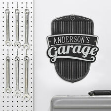 Car Grille Personalized Garage Sign