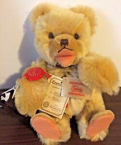 1989 Hermann Teddy Bear ~ Piece of Berlin Wall LE 247/2000