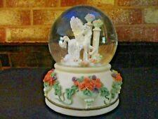 Pegasus Snow Globe Music Box Wind Beneath My Wings