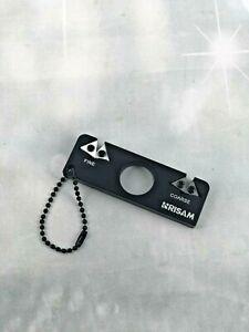 Pocket Knife Sharpener - Carbide & Ceramic for EDC Outdoor, Bushcraft, Hunting
