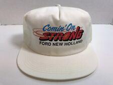 CASNH021 Casquette NEW HOLLAND Noire en maille