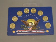Shell Gas President Coins