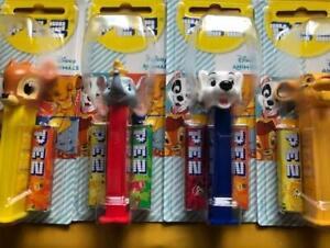Disney Animals Pez Dispenser Bambi Dumbo 101 Dalmation Simba MOC