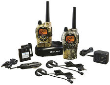 36 Mile 50 Channel FRS GMRS Two Way Radio Camo walkie talkie work hunting