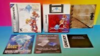 Sword of Mana RPG Square Enix - Game Boy Advance - Complete Box Tested Nintendo