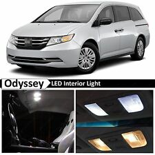 2015 Honda Odyssey Premium Xenon White LED Lights Interior Package Kit