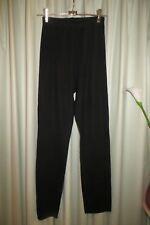 VINTAGE  ~ Black Knit  ~ PANTS * Size S/M *