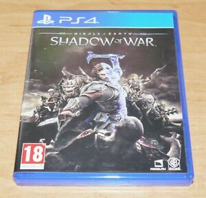 Middle earth Shadow of war Game for Sony PS4 Playstation 4