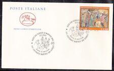 Italia 2004 17 centenario martirio di San Giorgio timbro 2 FDC Mnh