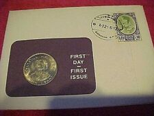 1966 #26 99 COMPANY FIRST DAY FIRST ISSUED THAILAND 1 BHAT CONJOINED BUST