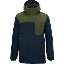 Mens Salomon Snow Ski Jacket WINTER COAT Sashay Insulated Navy Large L