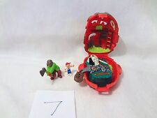Mighty Max Horror Heads Lockjaw 100% Complete Set Playset Bluebird Toys