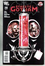 Batman Streets Of Gotham #20-2011 vf/nm Paul Dini Catwoman / Hush