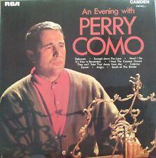 "Perry Como. An Evening With Perry Como 12"" LP.  10 Classic Hits.  CDM1053  RCA"